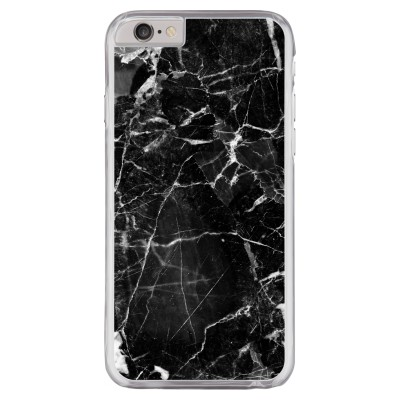 iphone-6-6s-hard-hoesje - Zwart Marmer 2