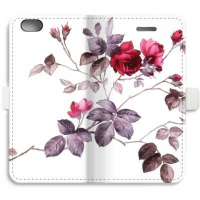 iphone-6-6s-full-print-flip-case - Pretty flowers