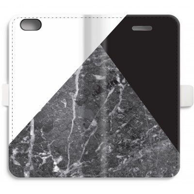 iphone-6-6s-full-print-flip-case - Marble combination
