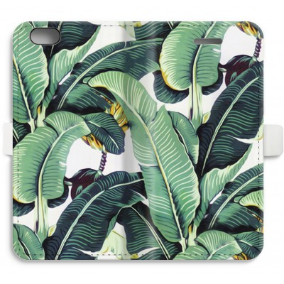iphone-6-6s-full-print-flip-case - Banana leaves