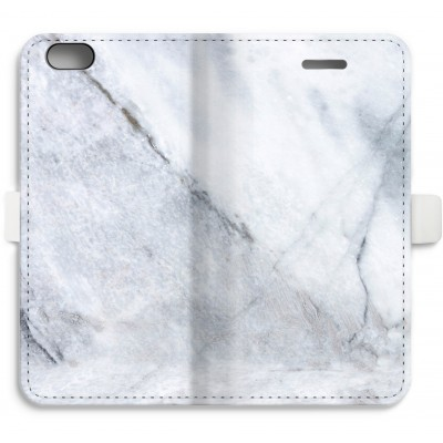 iphone-6-6s-full-print-flip-case - Marble white