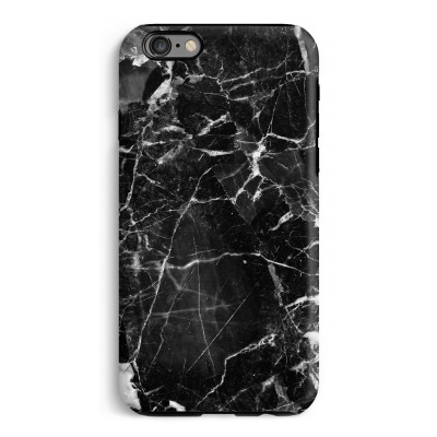 iphone-6-6s-tough-case - Zwart Marmer 2