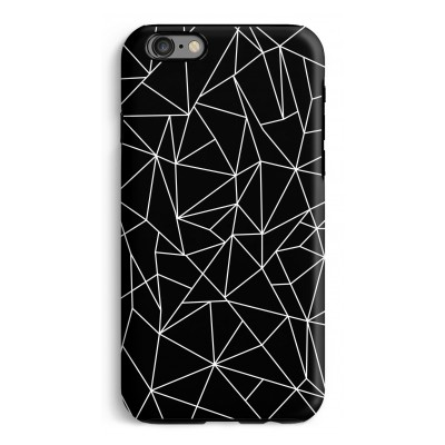 iphone-6-6s-tough-case - Geometrische lijnen wit