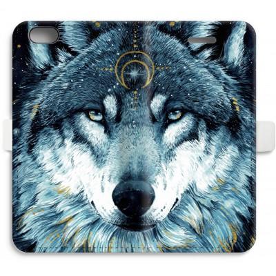 iphone-6-6s-full-print-flip-case - Darkness Wolf