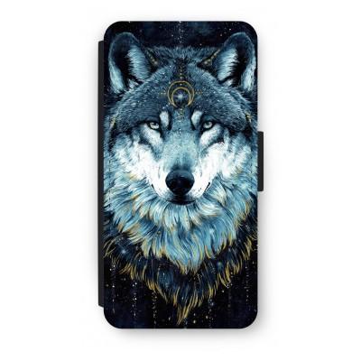 iphone-6-6s-flip-case - Darkness Wolf