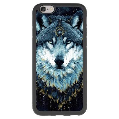iphone-6-6s-mjuka-skal - Darkness Wolf