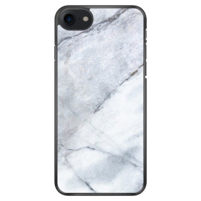 iphone-7-soft-cover - Witte marmer