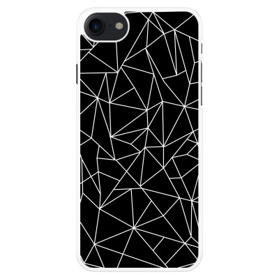 iphone-7-case - Geometric lines white