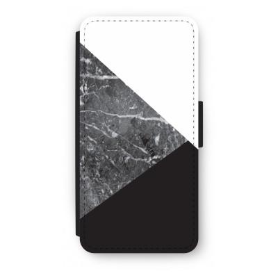 iphone-7-flip-hoesje - Combinatie marmer
