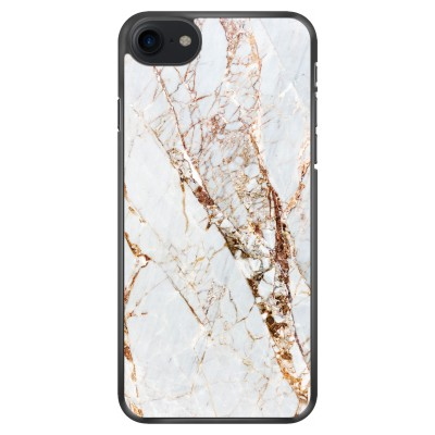 iphone-7-soft-cover - Goud marmer
