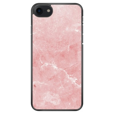 iphone-7-soft-cover - Roze marmer