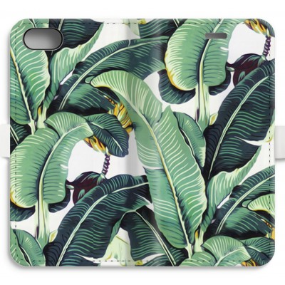 iphone-7-volledig-geprint-flip-hoesje - Bananenbladeren