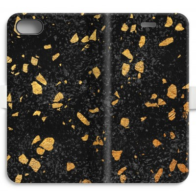 iphone-7-volledig-geprint-flip-hoesje - Terrazzo N°7
