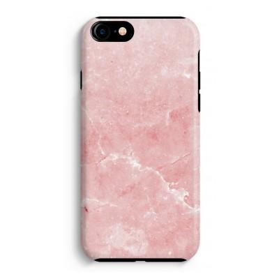 iphone-7-tough-case - Roze marmer