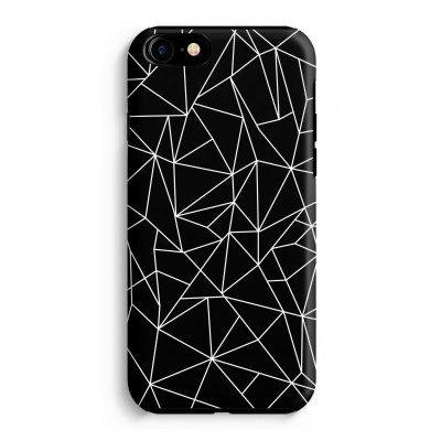 iphone-7-tough-case - Geometrische lijnen wit