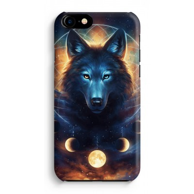 iphone-7-hoesje-rondom-geprint - Wolf Dreamcatcher
