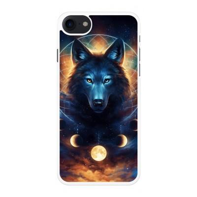 iphone-7-telefoonhoesje - Wolf Dreamcatcher