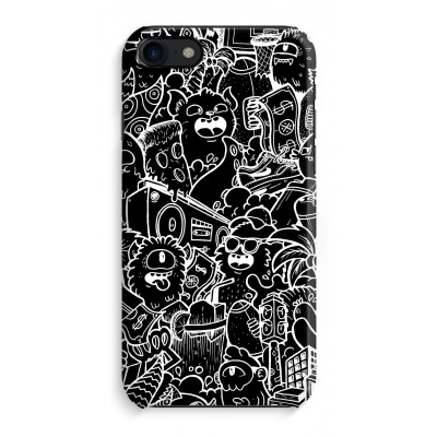 iphone-8-full-print-case - Vexx Black City