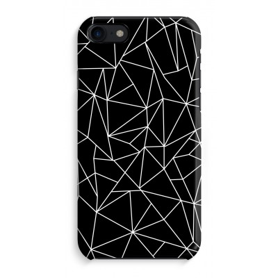 iphone-8-full-print-case - Geometric lines white