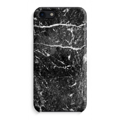 iphone-8-full-print-case - Black marble