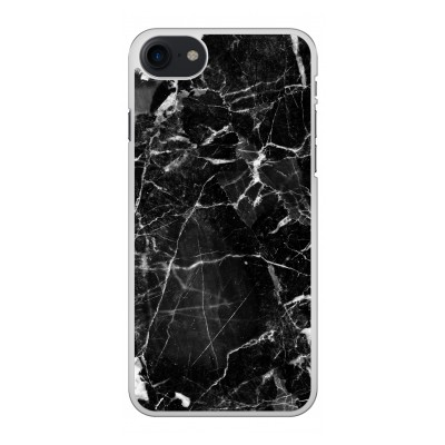iphone-8-hard-case - Black Marble 2