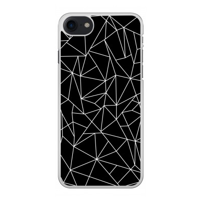 iphone-8-hard-case - Geometric lines white