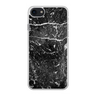 iphone-8-hard-case - Black marble