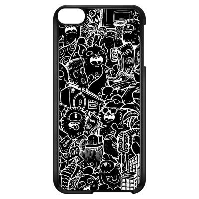 ipod-touch-6-hard-hoesje - Vexx Black City