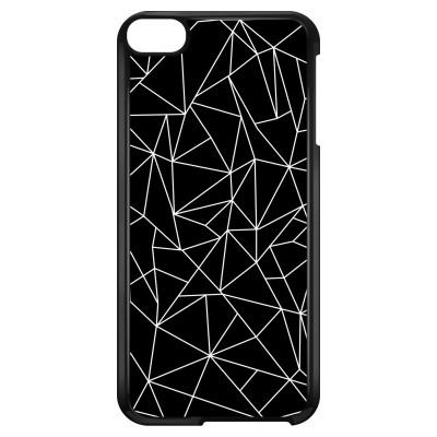 ipod-touch-6-hard-hoesje - Geometrische lijnen wit