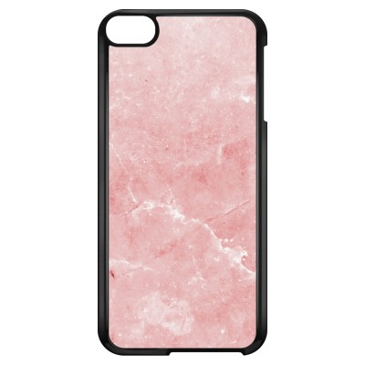 ipod-touch-6-hard-hoesje - Roze marmer