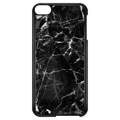 ipod-touch-6-hard-hoesje - Zwart Marmer 2