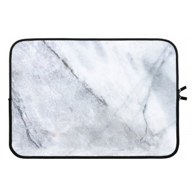 laptop-sleeve-13-inch - Marble white