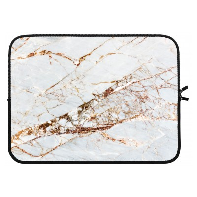 laptop-sleeve-15-inch - Gold Marble
