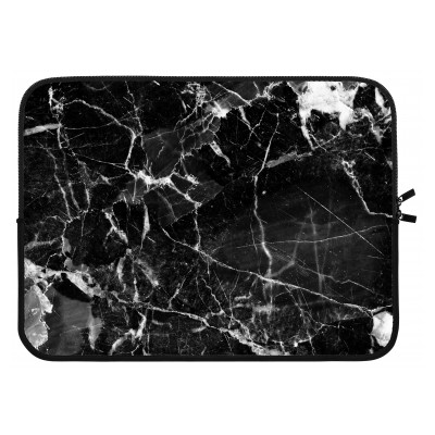 laptop-sleeve-15-inch - Black Marble 2