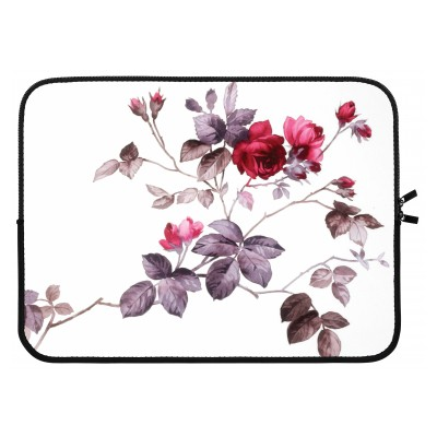 laptop-sleeve-15-inch - Pretty flowers