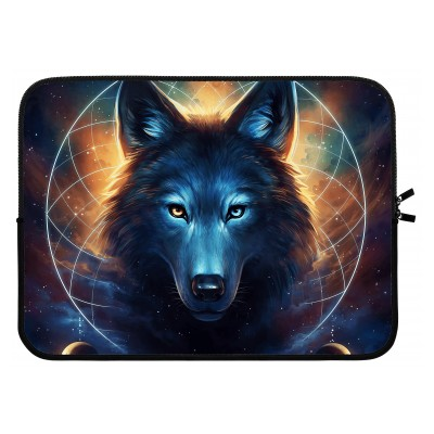laptop-sleeve-15-inch - Wolf Dreamcatcher