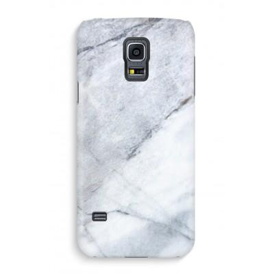 samsung-s5-hoesje-volledig-geprint - Witte marmer