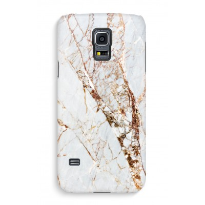 samsung-s5-cover-full-print - Gold Marble