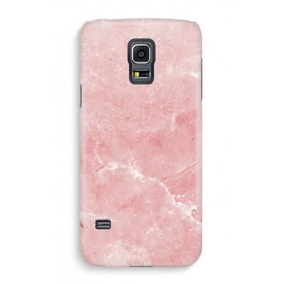 samsung-s5-hoesje-volledig-geprint - Roze marmer