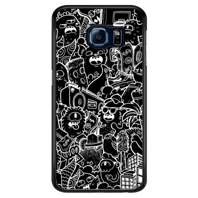 samsung-galaxy-s6-hard-hoesje - Vexx Black City