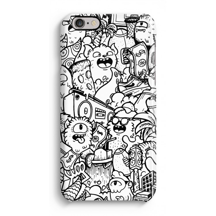 Vexx City 2 Iphone 6 6s Full Print Case Casecompany