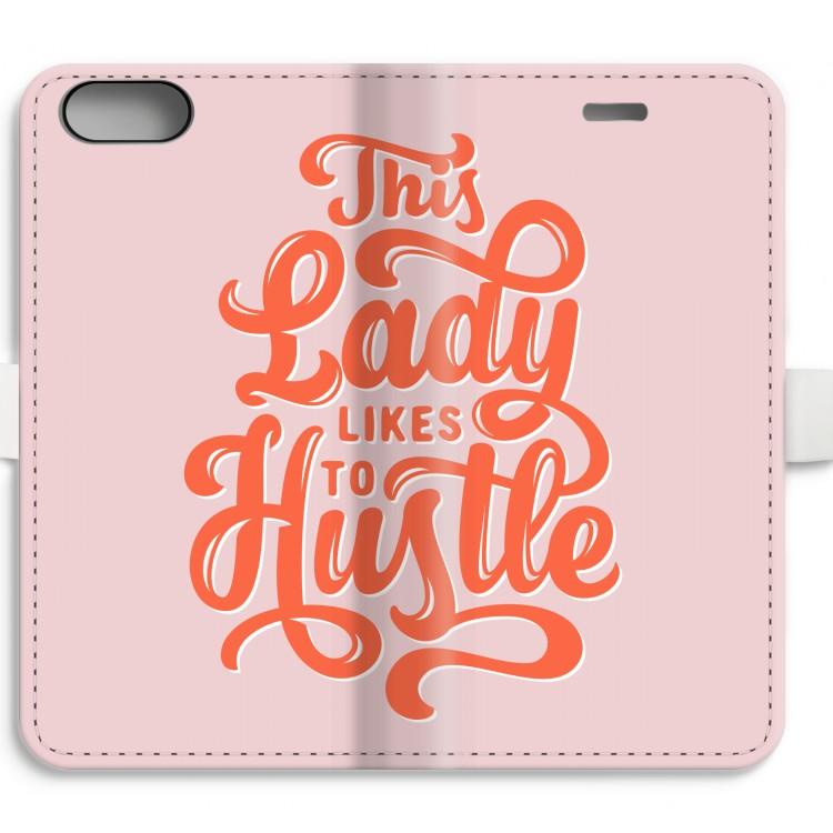 Hustle Lady. iPhone 8 Plus Plånboksfodral ... 8619ecdf1e6fe