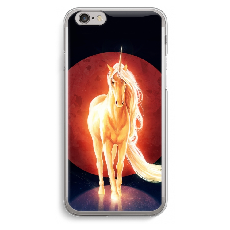 Last Unicorn. iPhone 6   6S Transparent Fodral ... e6cbb278b1b71